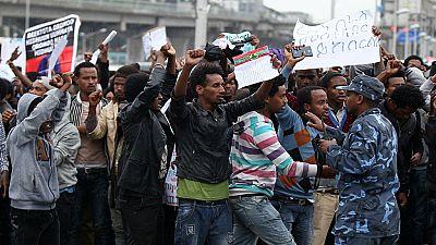 """La France """"préoccupée"""" par la repression en Éthiopie"""