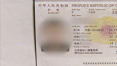 Un turista chino, conducido a un centro alemán de refugiados por error