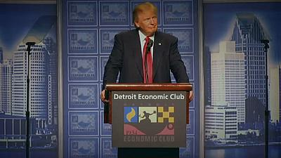 Trump unveils economic vision