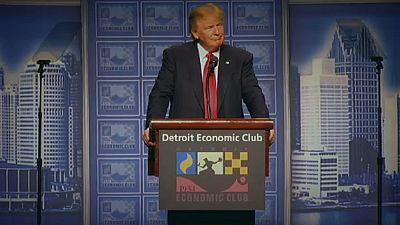 Trump unveils economic vision