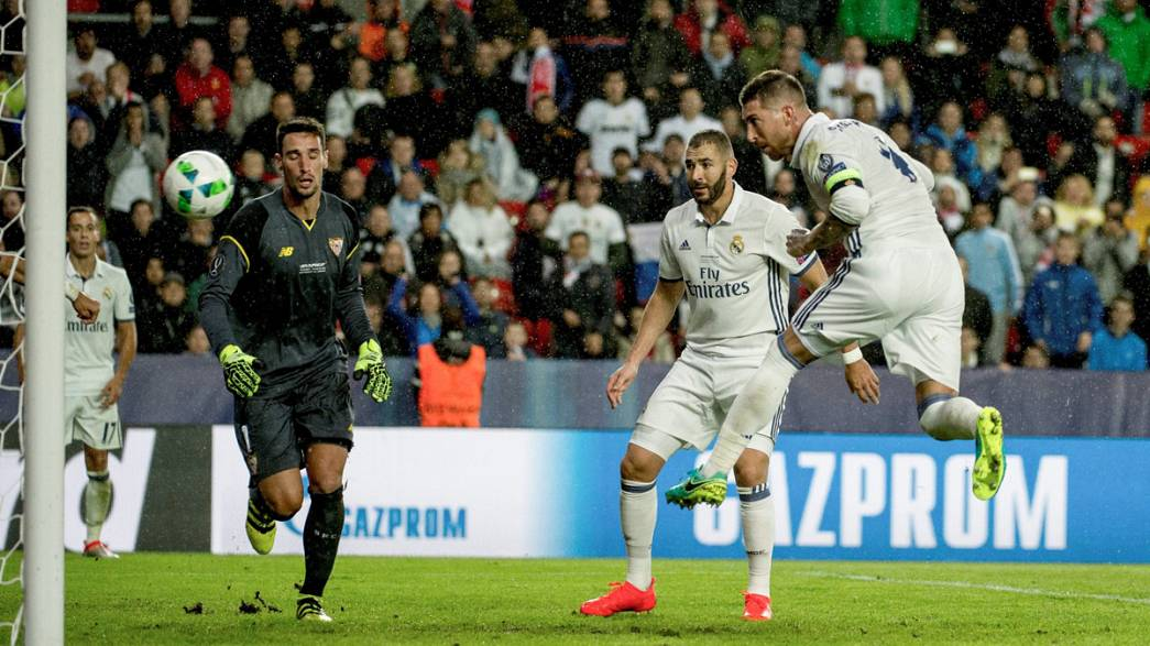 Süper Kupa bir kez daha Real Madrid'in