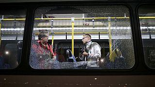 Rio 2016: rálőttek egy újságírókat szállító buszra
