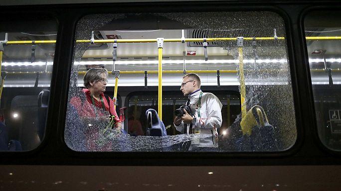 "В Рио-де-Жанейро обстрелян автобус с ""олимпийскими"" журналистами"
