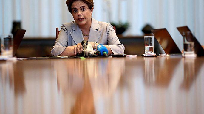 Brezilya: Senato Dilma Rousseff'in yargılanmasına karar verdi
