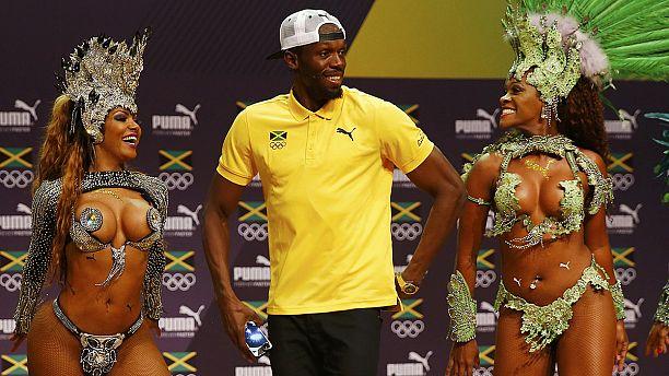 Bolt dancing samba ahead of Rio sprints