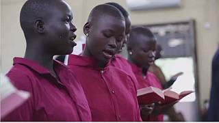 South Sudan's orphan girls find solace in singing