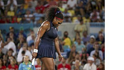 Rio 2016 : Serena Williams élimée du tournoi olympique de tennis