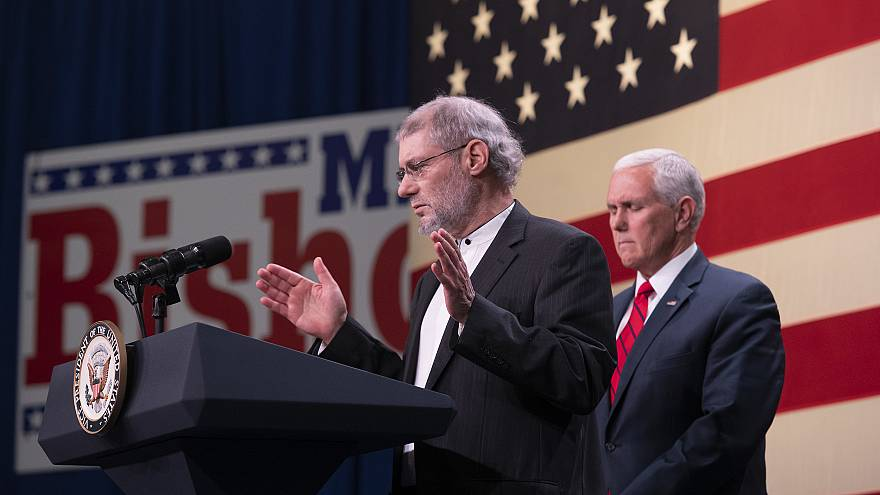 Image: Rabbi Loren Jacobs, Mike Pence