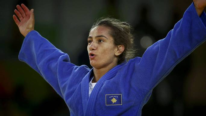 """Майлинда Кельменди: """"Счастлива представлять Косово"""""""