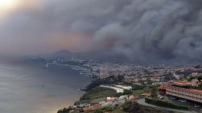Tovább tombolnak az erdőtüzek Portugáliában