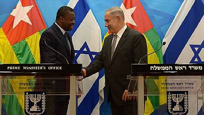 [Photos] Israeli PM hints of West Africa visit as he meets Togo's president