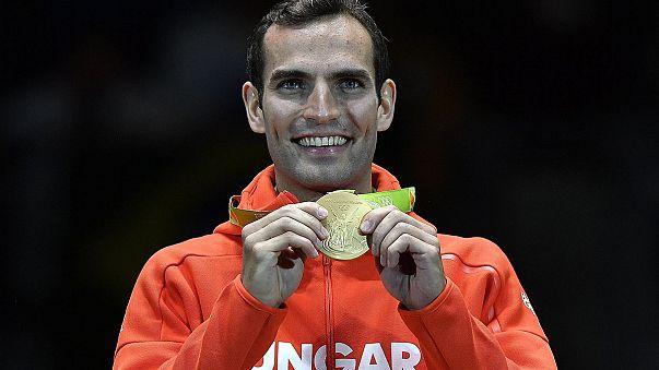 Megvédte olimpiai bajnoki címét Szilágyi Áron