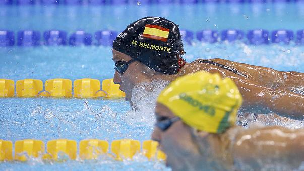 ميريا بلومنتي تمنح سيدات اسبانيا اول ذهبية في السباحة