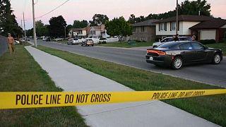 Kanada'da polis terör şüphelisini öldürdü