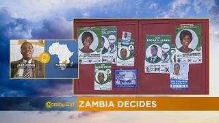 Zambia decides, polls open early [The Morning Call]