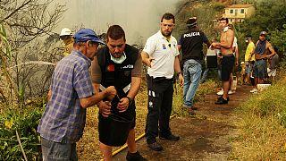 Feuerinferno in Portugal: Hilfe aus dem Ausland angefordert