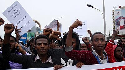 UN calls for 'urgent' access and release of detained protesters in Ethiopia