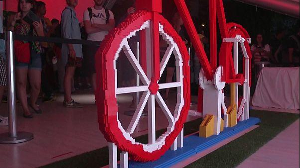 A maior bicicleta de Lego do Mundo
