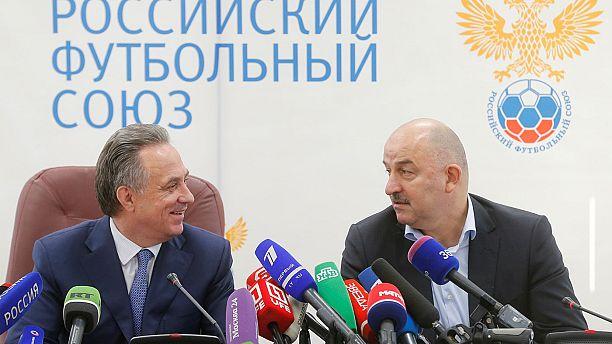 Stanislaw Tschertschessow übernimmt russische Fußball-Nationalmannschaft