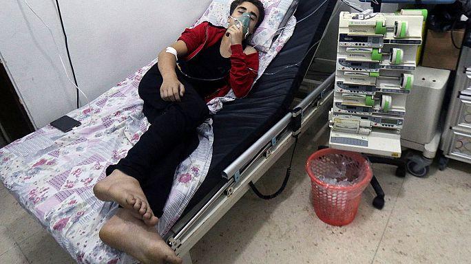 Újabb gáztámadás történhetett Aleppóban