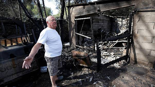 """السلطات الفرنسية """"تسيطر"""" على الحرائق في غرب مرسيليا"""