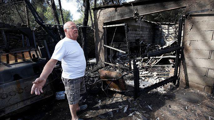 Лесные пожары остановлены у ворот Марселя