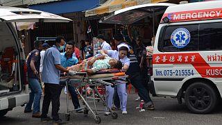 Al menos un muerto y diez heridos por la explosión de dos bombas en un complejo turístico de Tailandia