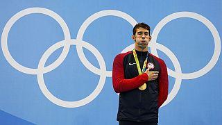 الأميركي مايكل فيلبس يحصد ذهبيته الـ22 في الالعاب الاولمبية