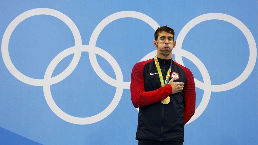 Phelps holt sein 22. Gold, Oleksiak und Manuel teilen sich ersten Platz über 100 Meter Freistil
