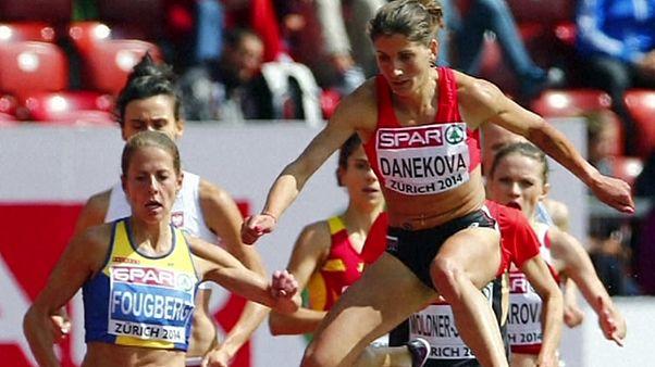 Atleta búlgara Danekova suspensa das competições