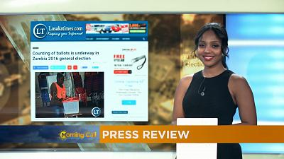 Press Review of August 12, 2016 [The Morning Call]