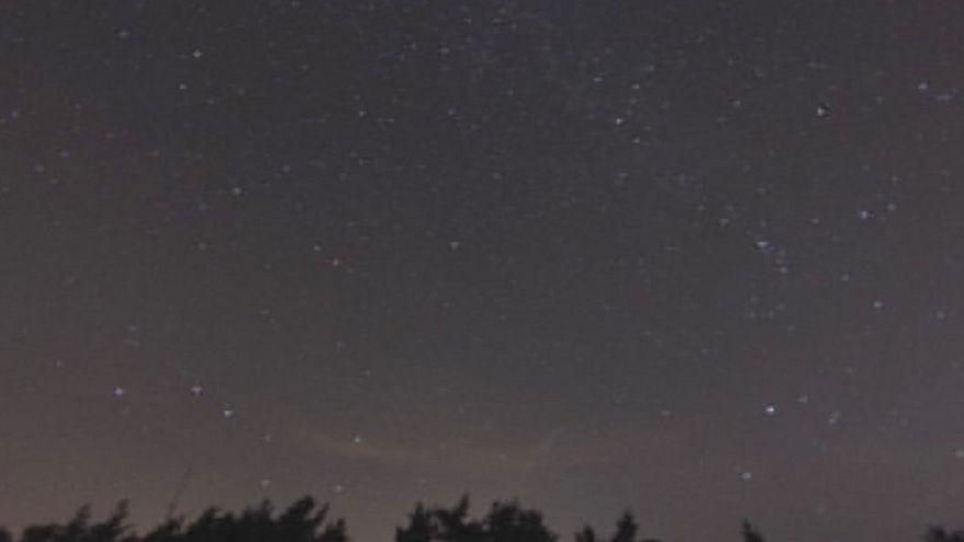 Chuva de meteoritos Perseid