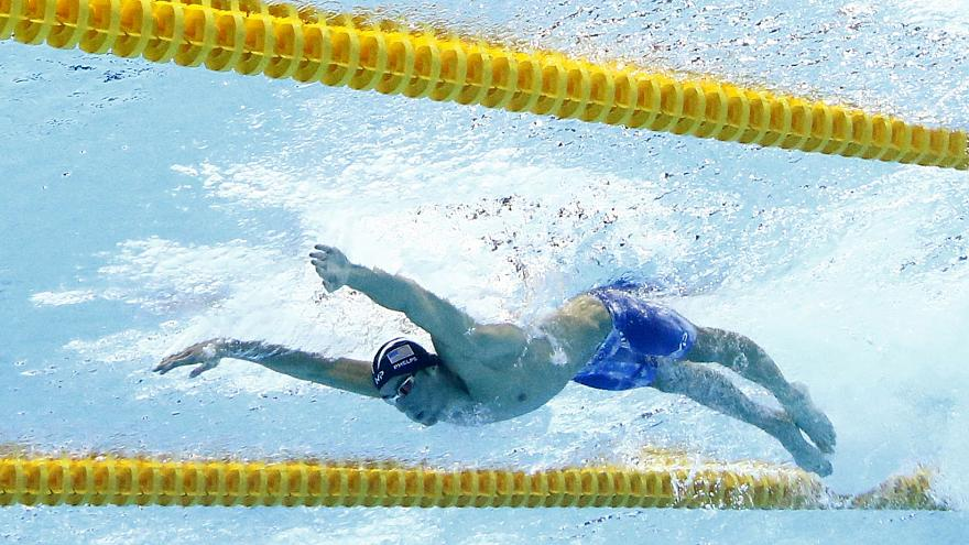 Michael Phelps, l'extraterrestre