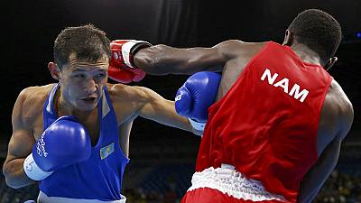 Namibian boxer accused of sex assault loses Rio bout