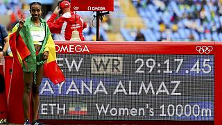 Africa's first gold in Rio - Ayana breaks 10,000m world record