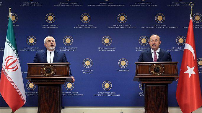 Çavuşoğlu: İran ile Suriye'nin toprak bütünlüğü konusunda hemfikiriz