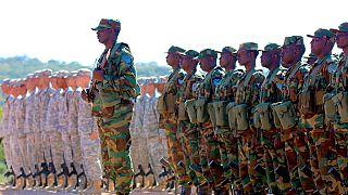 "Fin de l'exercice militaire ""Southern Accord"" édition 2016"