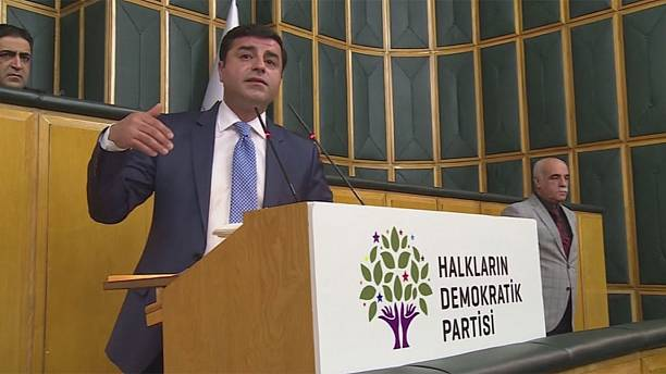 Turkish prosecutors seek jail term for pro-Kurdish party leader Demirtas