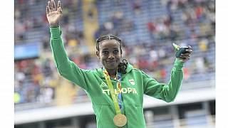 [Photos] Ethiopia's Ayana bags Africa's first Olympic gold, twitter reacts