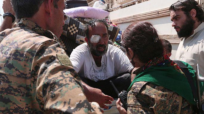 IS-Miliz zieht sich aus Manbidsch in Syrien zurück