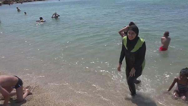 Controversy in Cannes - burkinis banned on beach