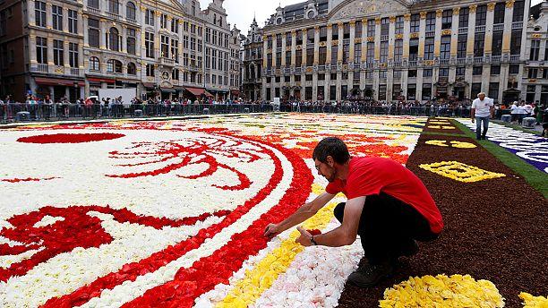 """Japan-inspired """"Flower Carpet"""""""
