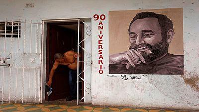 Cuba's Fidel Castro turns 90