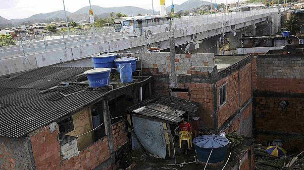 Las favelas viven de espaldas a la fiesta olímpica