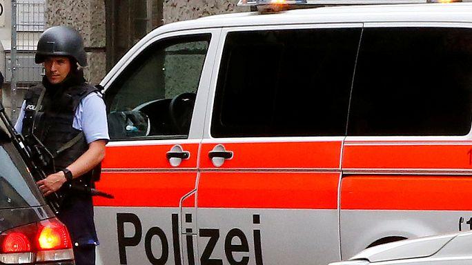 İsviçre'de trende saldırı
