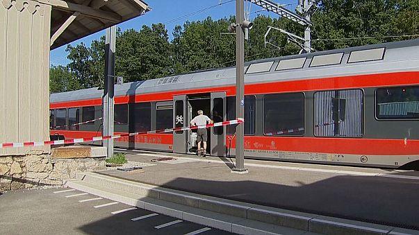 سويسرا:إصابة سبعة أشخاص بجروح في هجوم على قطار ركوب
