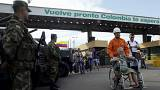 Venezuelans flock across Colombia border to stock up on basics