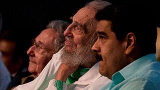 Fidel Castro 90. yaş gününü halkıyla kutladı