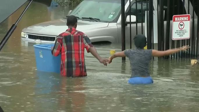 Louisiana állam: pusztító árvíz
