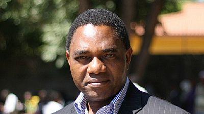 Présidentielle en Zambie : le leader de l'opposition va se plaindre à la Commission électorale